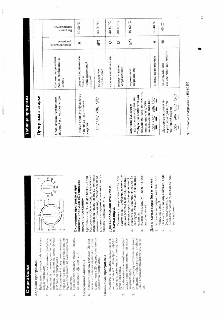Инструкция стиральной машины siemens wv 1080