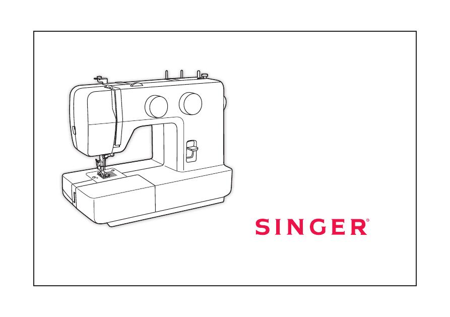 Мануал Швейная машина SINGER Promise 40 PROMISE 40 Gorgeous Singer Sewing Machine 1409 Manual