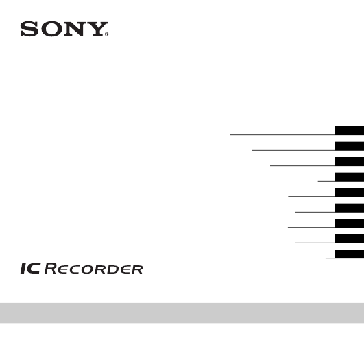 диктофон Sony Ic Recorder инструкция на русском - фото 6