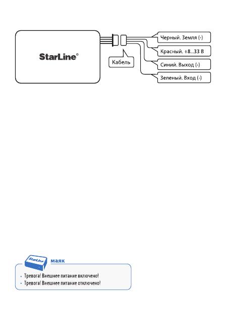 Старлайн М17 Инструкция По Эксплуатации - фото 4