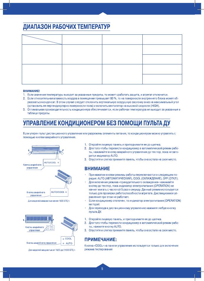 инструкция к пульту Venterra - фото 10