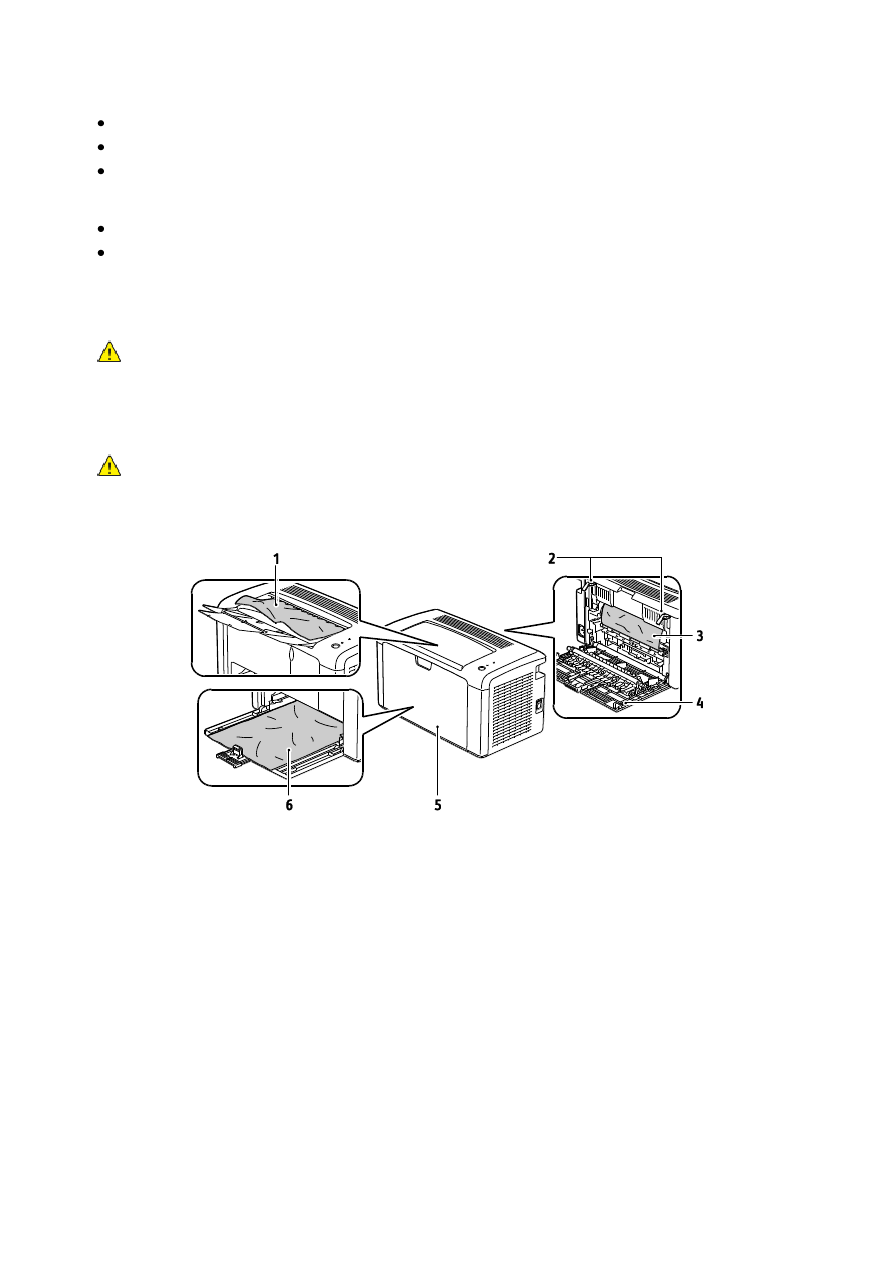 Xerox phaser 3010 пишет застряла бумага 65