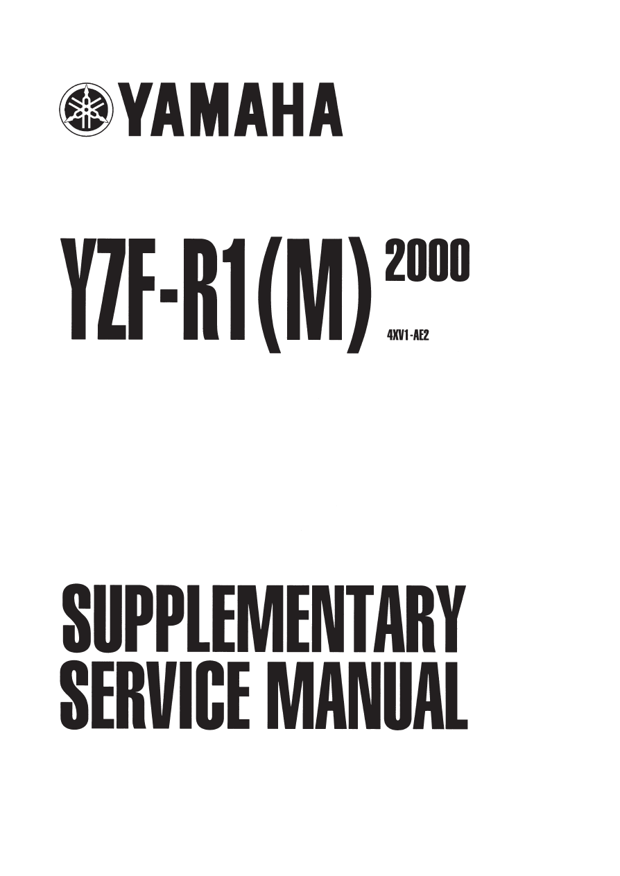 Yamaha yzf r1 2000 for Yamaha mox8 specs