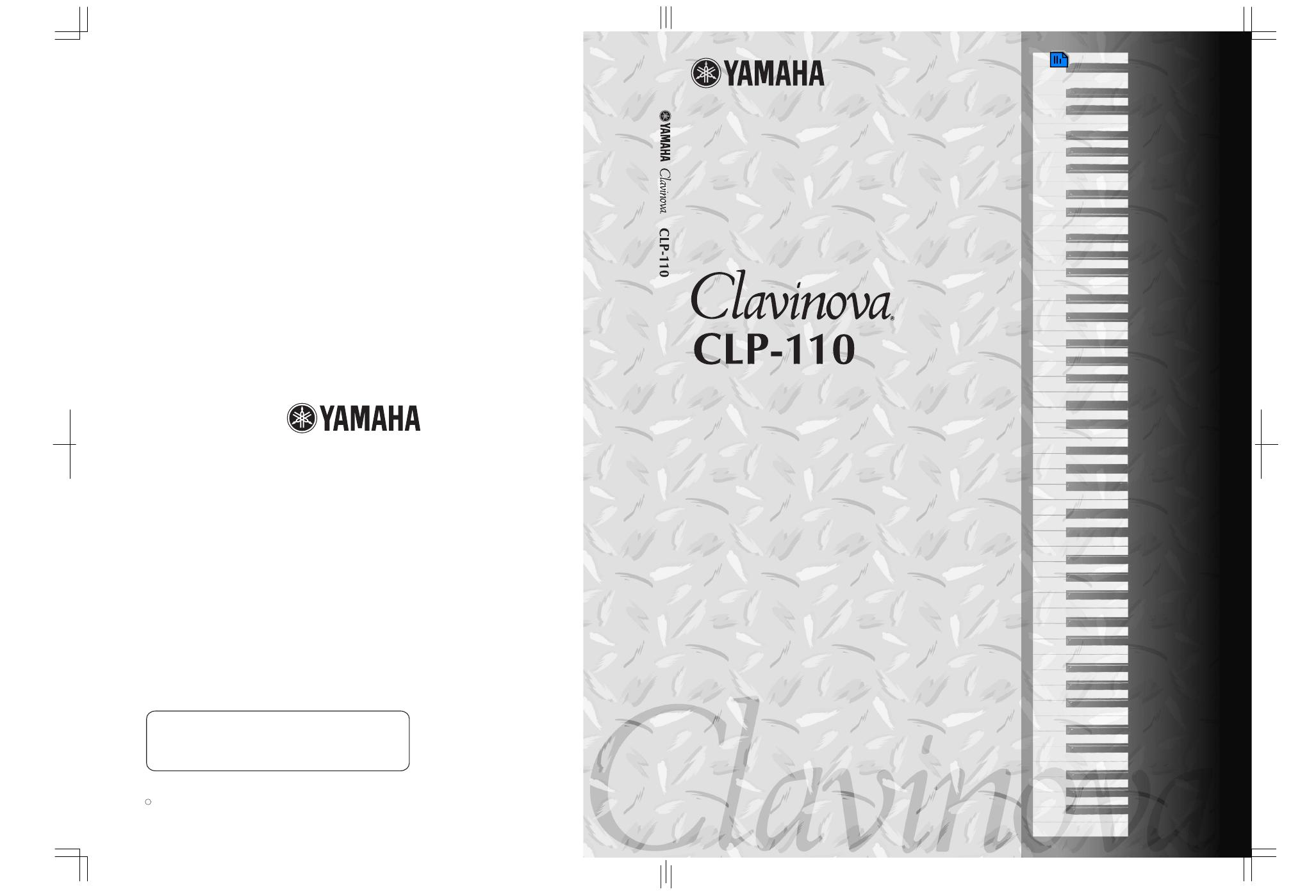 Yamaha clp 110 clavinova for Yamaha clavinova clp 110