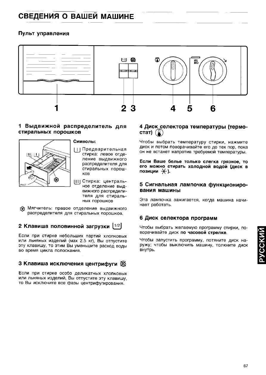 Инструкция по эксплуатации стиральная машина занусси