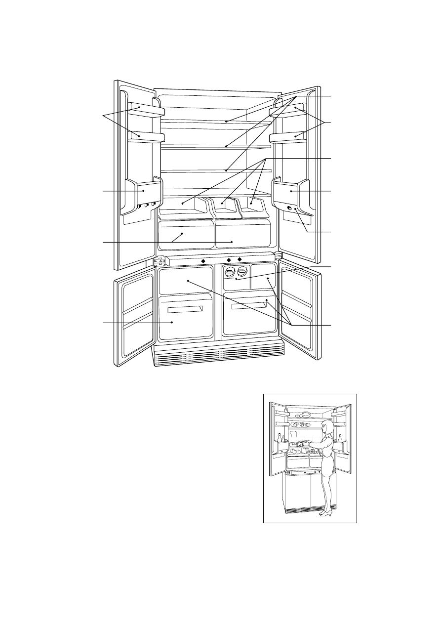 Страница 5 16  - Руководство пользователя  Холодильник ZANUSSI ZI7454 5e67f19e5a9